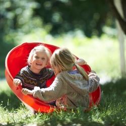 Het stimuleren van het evenwichtsorgaan bij kinderen