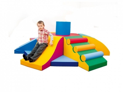 Soft Play foam blokken 19-delige activity set