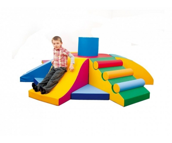 Soft Play foam blokken 19-delige activity set