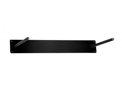 Ophangsysteem oefenmat metaal zwart