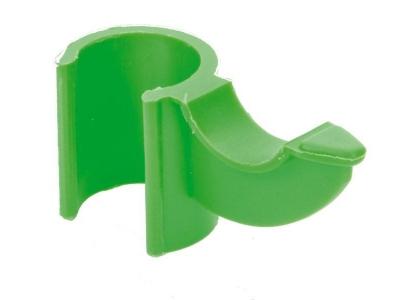 Bevestigingsclip voor stok groen