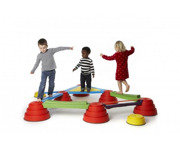 Gonge Build 'N Balance set 18-delig