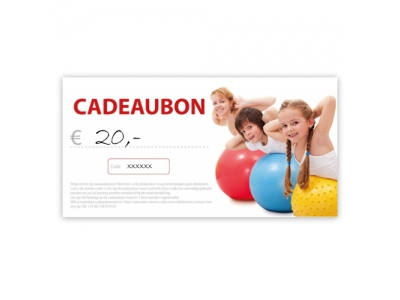 Cadeaubon € 20
