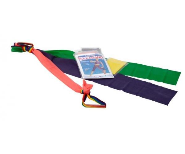 Flexaset 4 weerstandsbanden van 1 meter