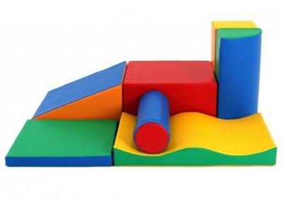 Soft Play foam speelblokken set 10, 7-delig XL