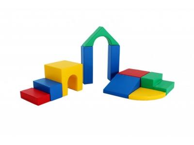 Soft Play foam blokken set 6, 10-delig