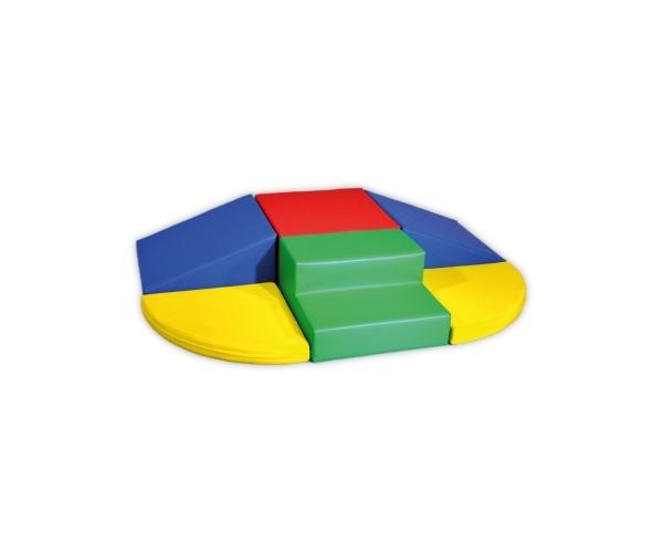 Soft Play foam blokken set 4, 6-delig