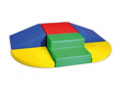 Soft Play foam blokken set 4, 6-delig