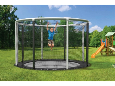 Akrobat Trampoline Gallus Flat to the Ground 365 cm