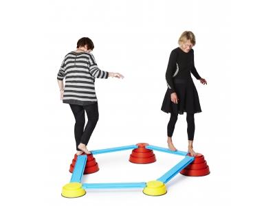 Gonge Build 'N Balance parcours 10-delig