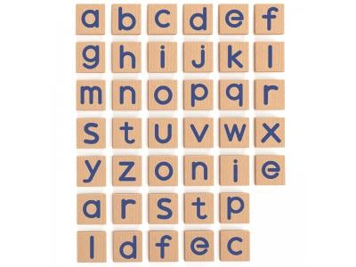 Magneet set kleine Letters, 40-delig