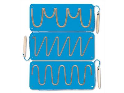 Magneetborden schrijfmotoriek, set van 3