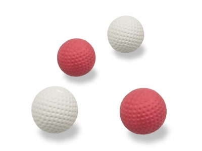 Minigolf Golfballen, Set van 4