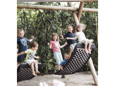 Multi Kids schommel Challenger Large L136 x B66 cm