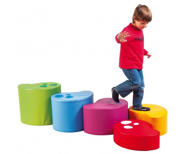 Soft Play Kidney Blokken, set van 5