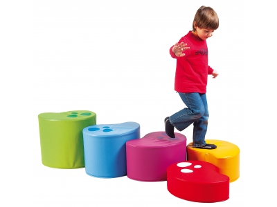 Soft Play Kidney Blokken, set van 5