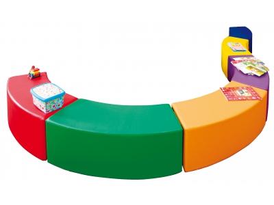 Soft Play foam Lounge Wave