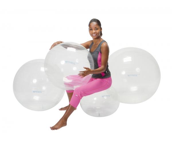 Opti transparante bal 55 cm