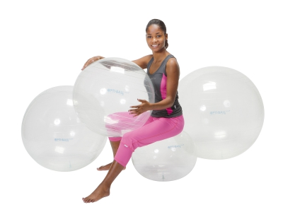 Opti transparante bal 65 cm