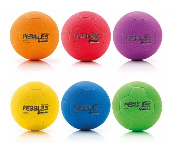Pebbles multi ballen, set van 6