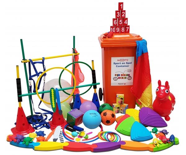 Sport en spel container KDV (peuters)