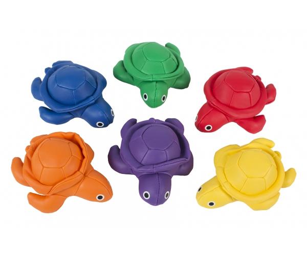 Pittenzak Schildpad, set van 6