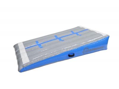 12SPRINGS Schuin vlak grijs/licht blauw L200xB100xH40 cm