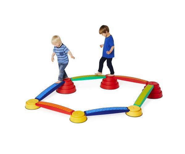 Gonge Build 'N Balance Sensorische parcours 12-delig
