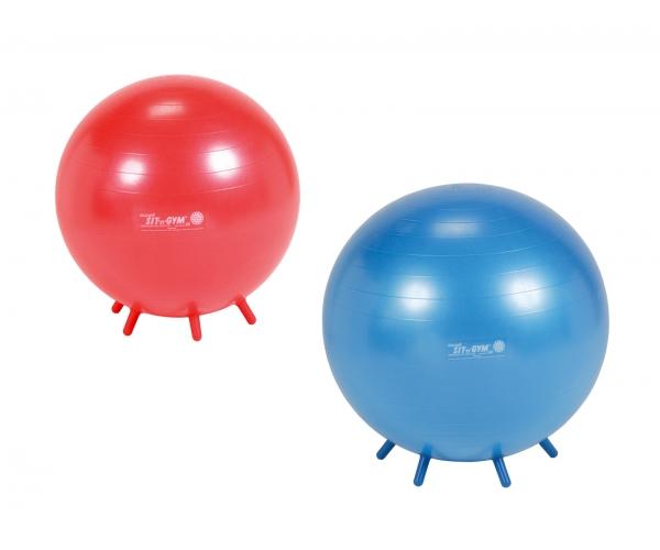 Sit 'n' Gym bal met pootjes 55 en 65 cm