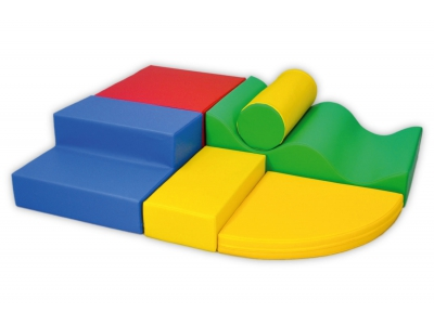 Soft Play foam blokken set 5, 6-delig
