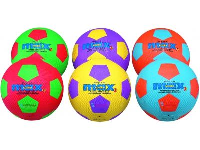 Spordas Voetbal Max, set van 6, maat 4