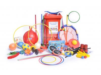 Sport en spel container (groep 3-5)
