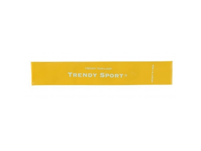 Tone loop / Mini band - klein elastiek geel