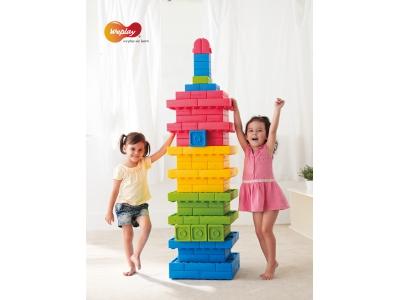 Weplay zachte Q-bouwblokken